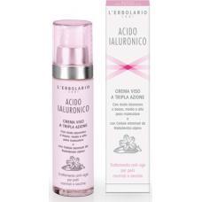 Acido Ialuronico Crema Viso per Pelli Normali e Secche 50 ml