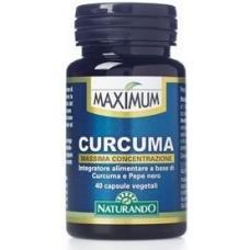 Maximum Curcuma e Piperina 40 capsule vegetali