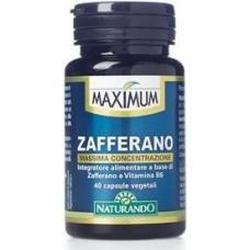 Maximum Zafferano 40 capsule vegetali