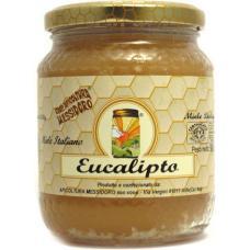 Miele vergine di Eucalipto BIO Vaso 500 g